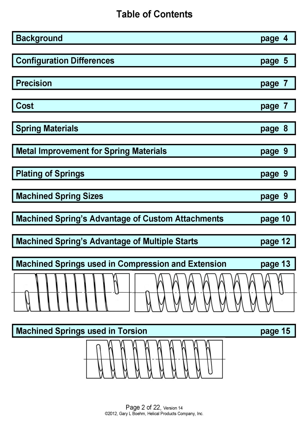 White Paper machined springs vs wound springs Page 2
