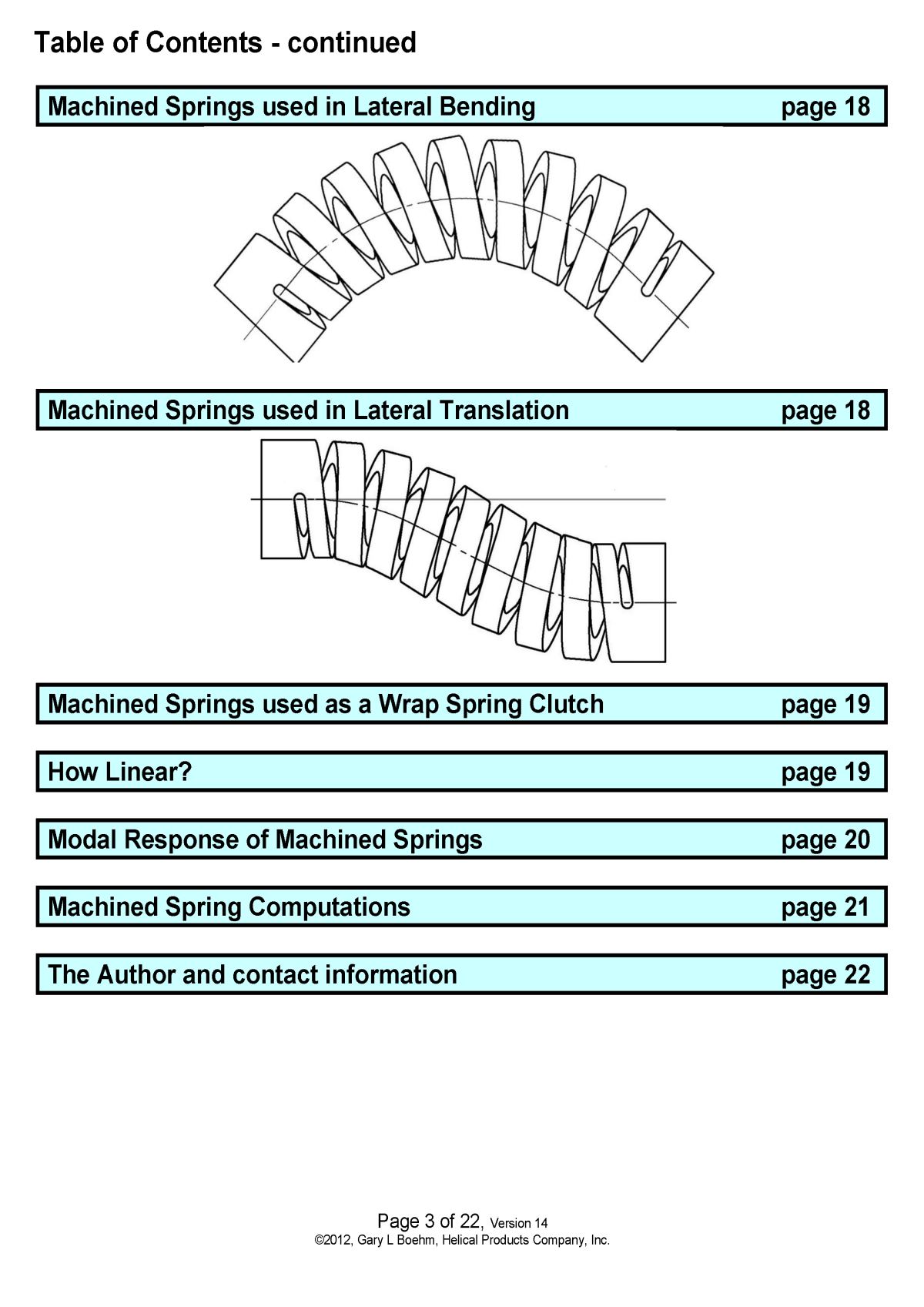 White Paper machined springs vs wound springs Page 7