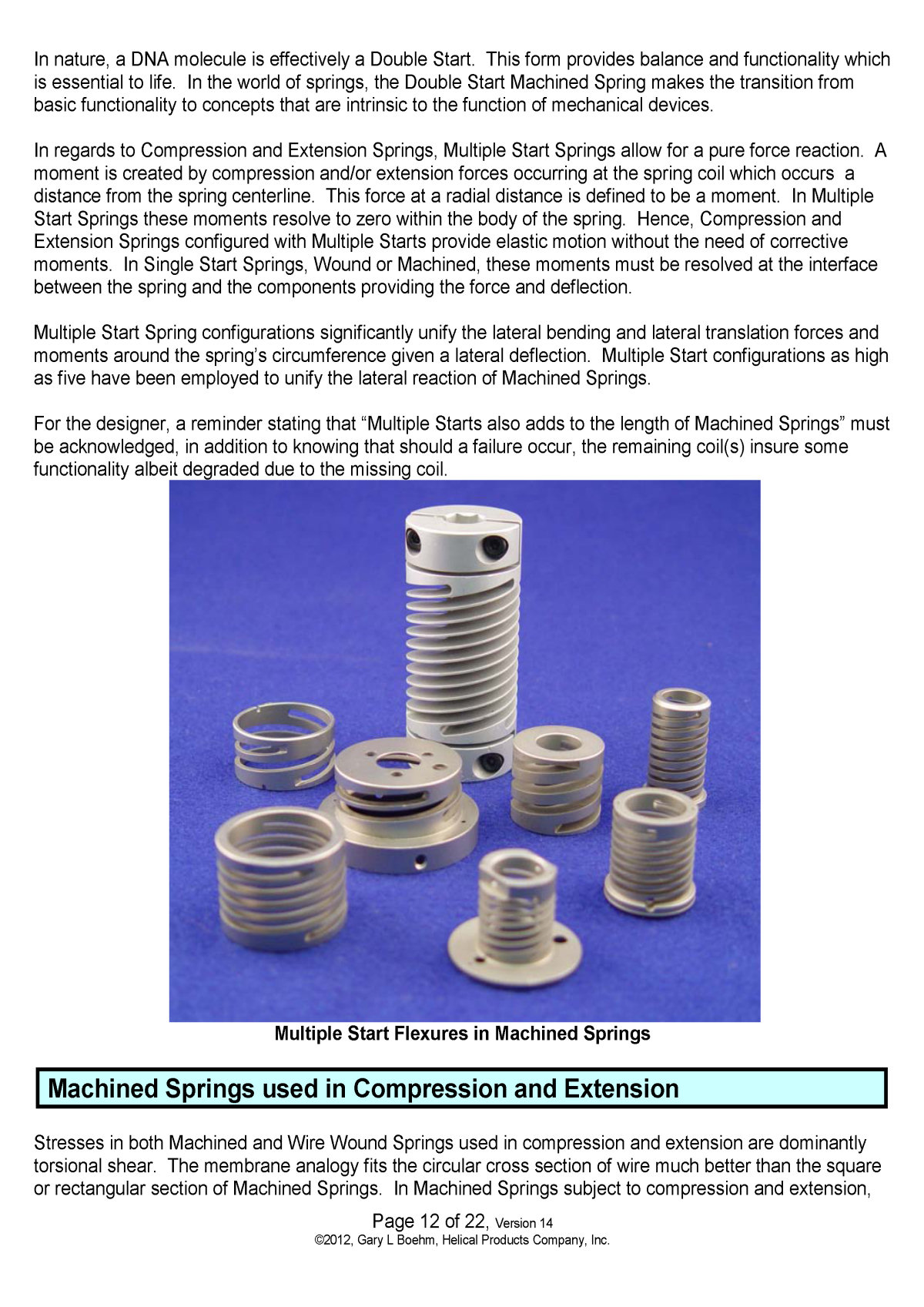 White Paper machined springs vs wound springs Page 15