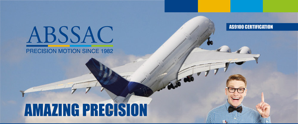 Abssac - Amazing Precision - AS9100 Certification