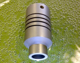 Helical beam coupling