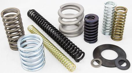 Valve springs and washers