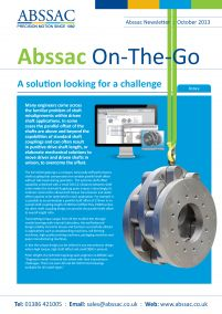 Abssac On-The-Go October 2013