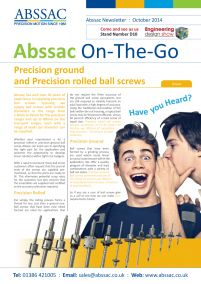Abssac On-The-Go October 2014