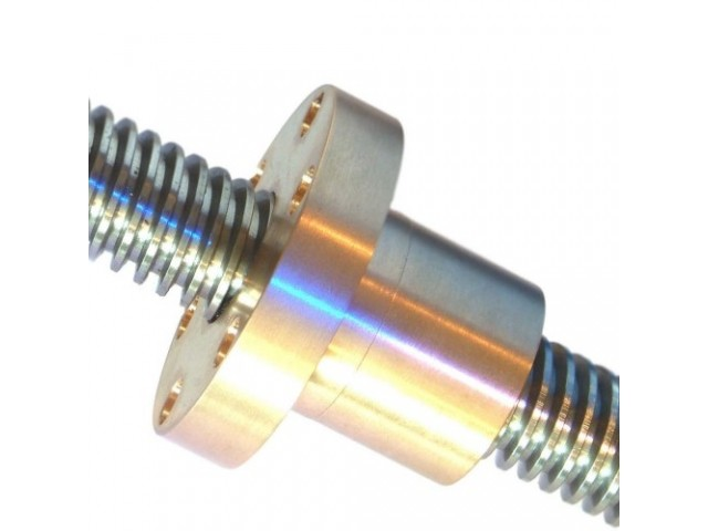 Bronze flange from the POWERSCREWS
