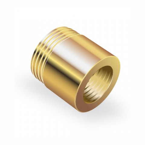 Bronze nuts are available on precision grade screws
