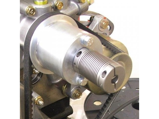Industrial application with adapted flexure