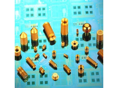 Gold electrical contacts