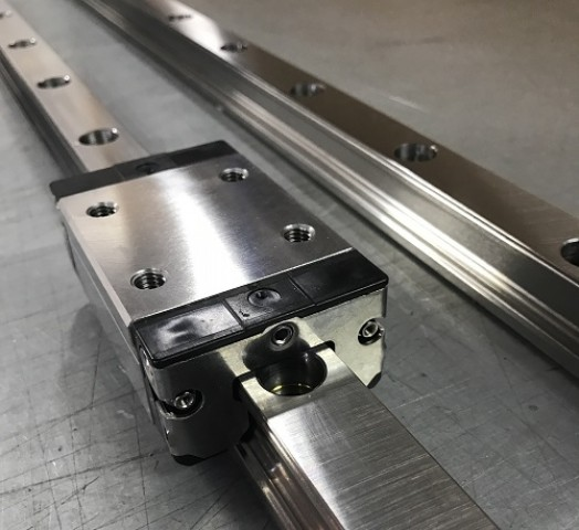 Stainless Steel Rails and carriages