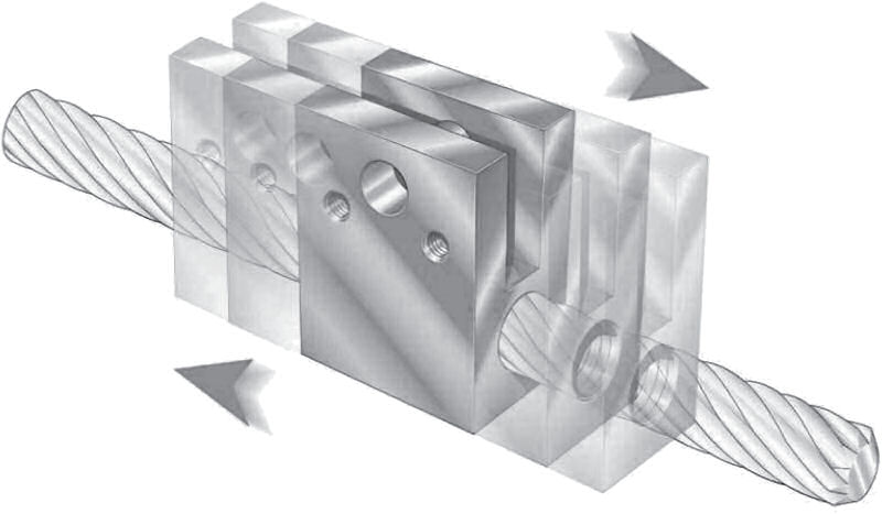 High Helix Lead Screws Illustration