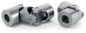 Universal joints with plain bearing