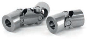 Universal joints with needle bearing