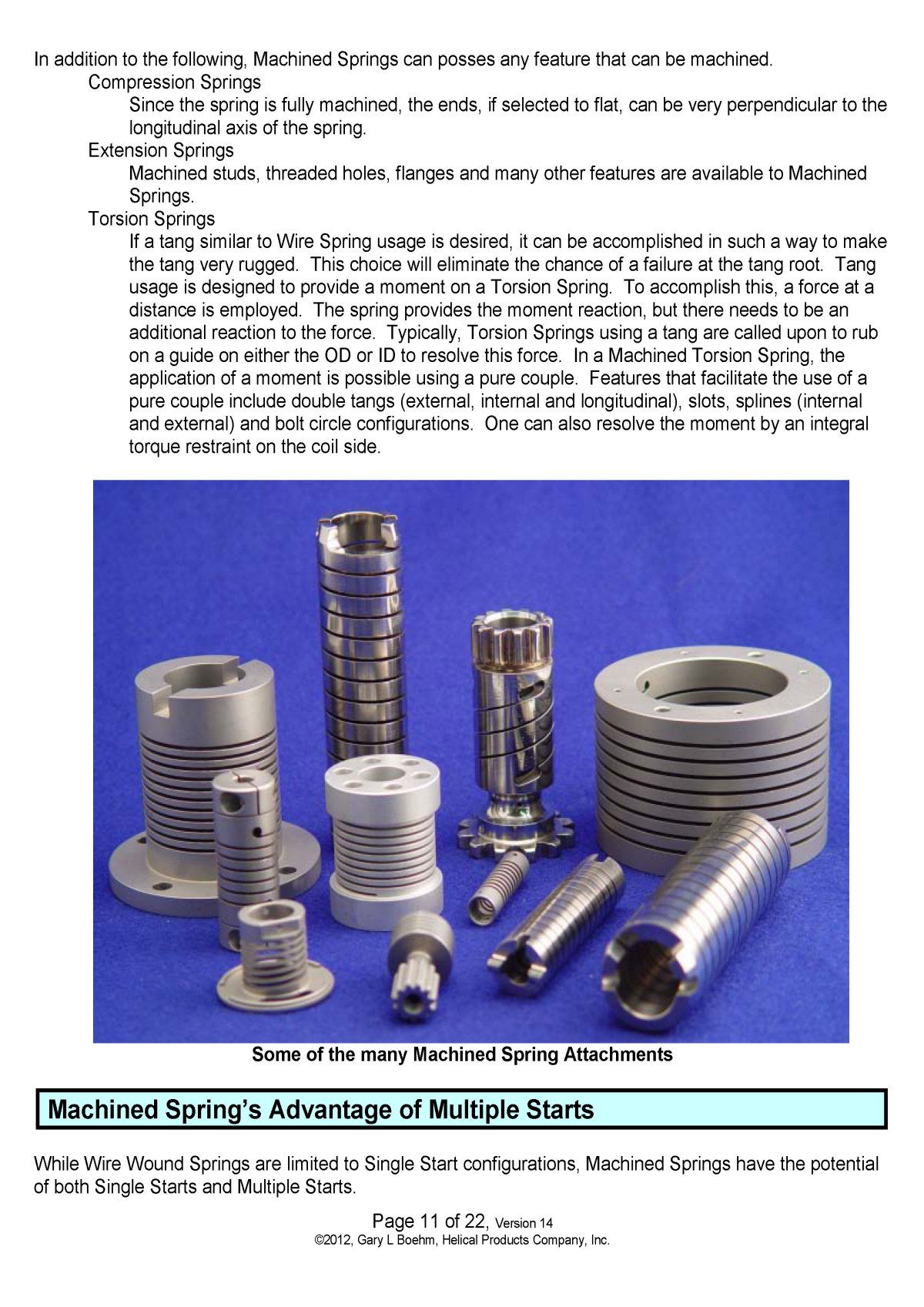 White Paper machined springs vs wound springs Page 3