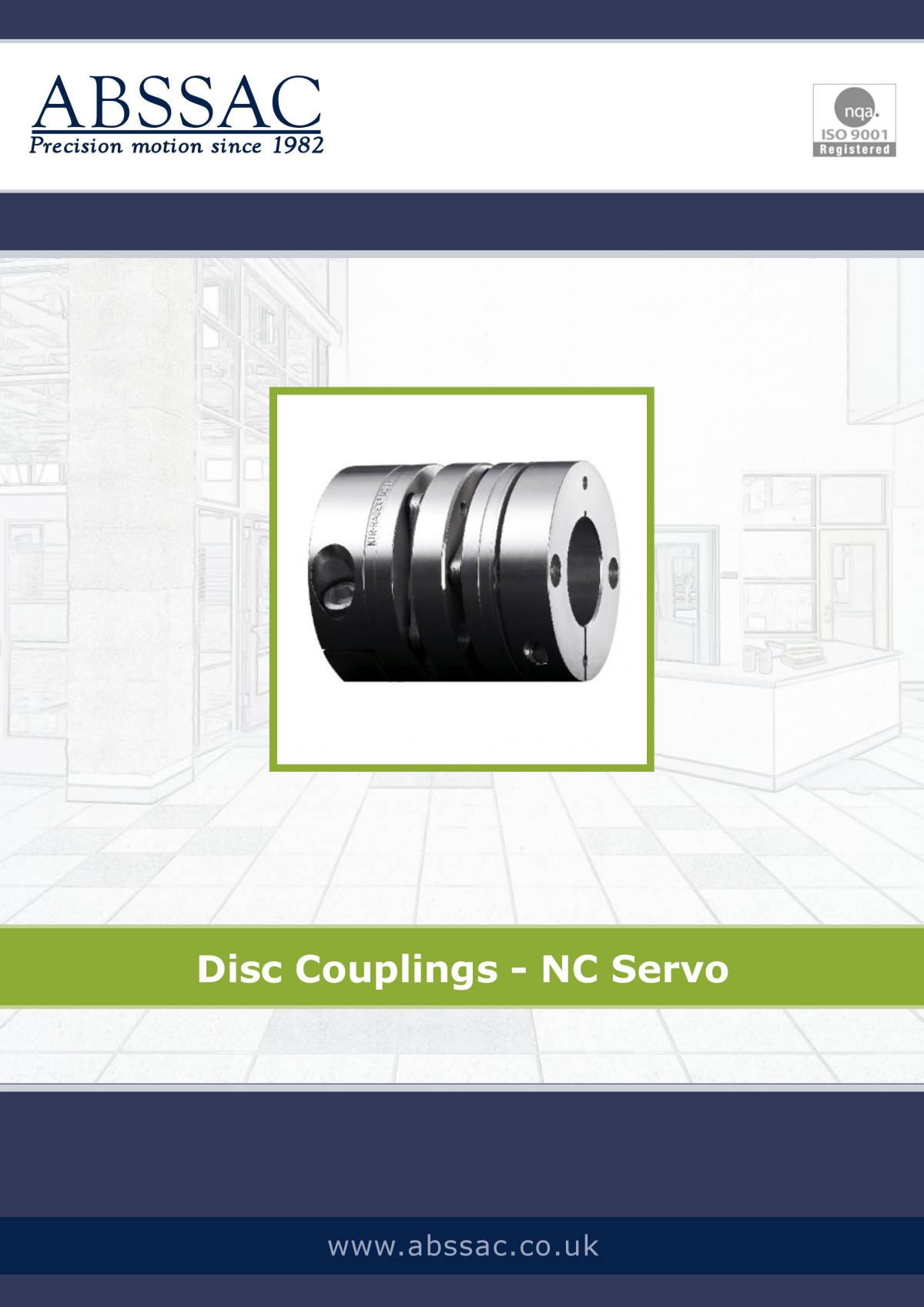 Abssac NC Servo Disc Shaft Coupling Page 11