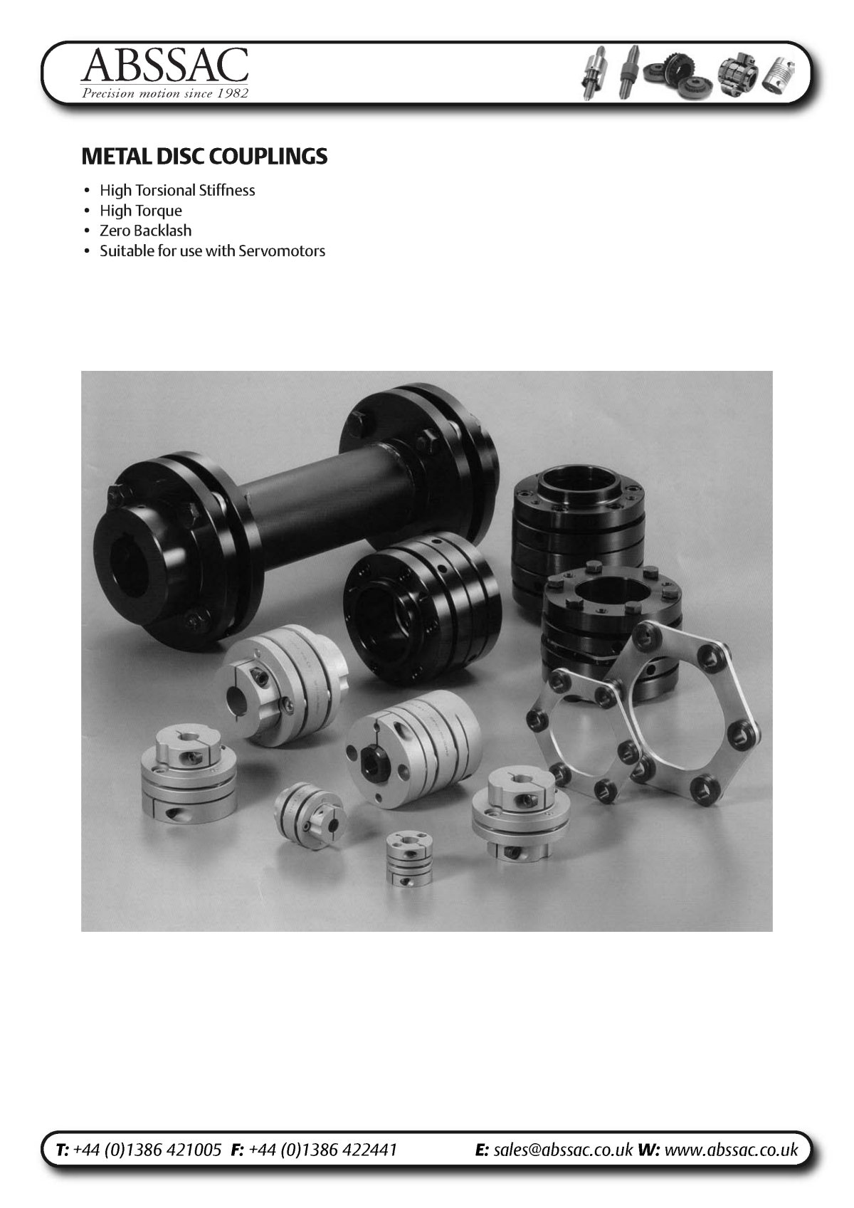 Abssac NC Servo Disc Shaft Coupling Page 4
