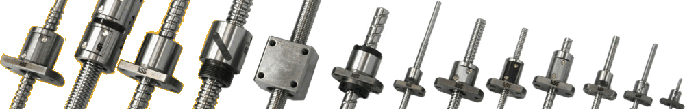 Precision rolled ball screws