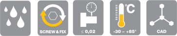 ETP Express R Specification Icons