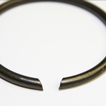 Retaining Rings - Round wire angle cut ends