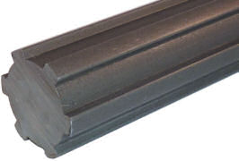 Splined Steel Shaft