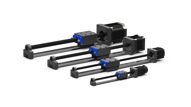 Helix Profile Rail Linear Actuators