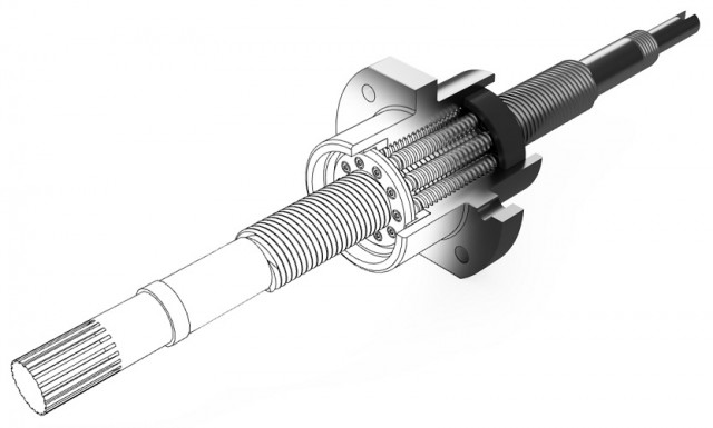 Satellite roller screws