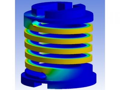 Machined Springs created from Thermoplastic Peek