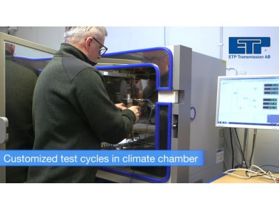 Climate test chamber at ETP - What else can we do for you!