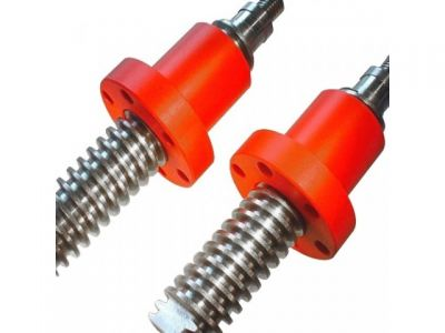 Left and right handed lead screws