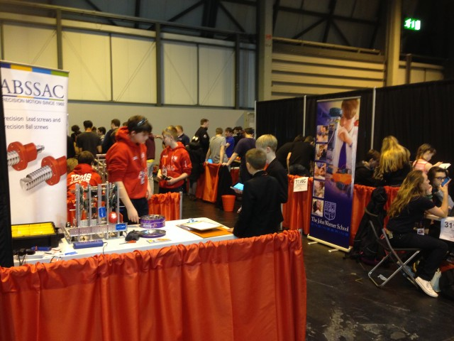 VEX Robotics U.K Nationals – 12/03/15-14/03/15