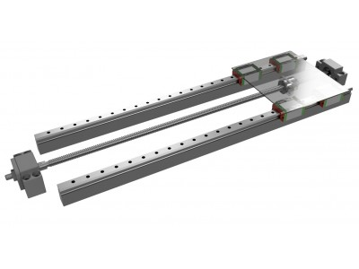 Linear guides compliment lead and ball screws