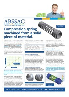 Amazing Precision: Abssac Machine Springs