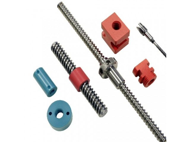 Specialist nut and screw designs are available