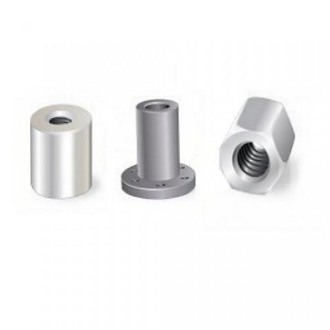 Mild Steel and Plastic Nuts (POWERSCREW)