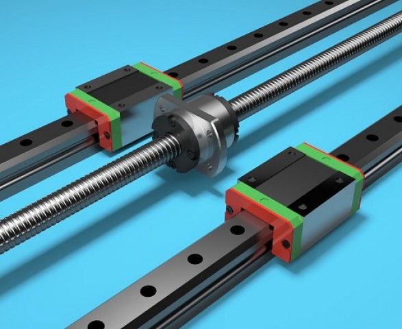 Ball screw, rails and guides make a perfect linear solution