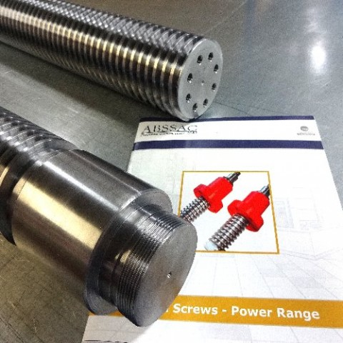 Power Screw Machined Journals