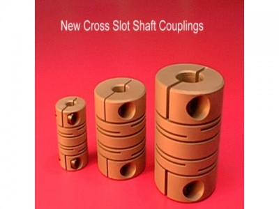 X slot couplings can accomodate up to 3 deg angular offset