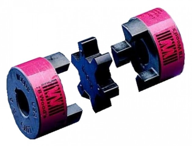 L Jaw shaft coupling